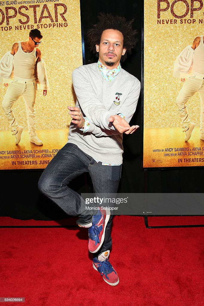 Eric Andre attends 'Popstar: Never Stop Never Stopping' New York Premiere at AMC Loews Lincoln Square 13 theater on May 24, 2016 in New York City.