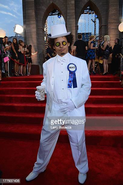 Eric Andre attends the 2013 MTV Video Music Awards at the Barclays Center on August 25 2013 in the Brooklyn borough of New York City