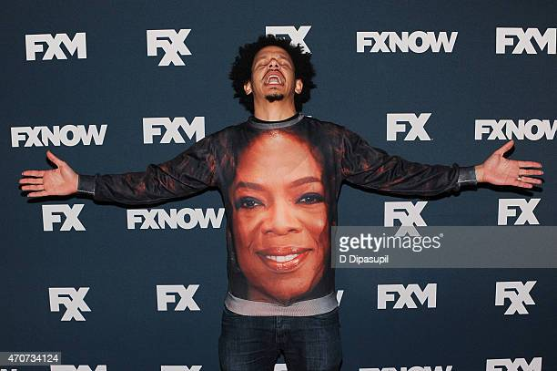 Eric Andre attends the 2015 FX Bowling Party at Lucky Strike on April 22 2015 in New York City