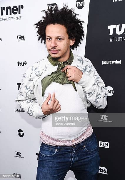 Eric Andre attends the 2016 Turner Upfront at Nick Stef's Steakhouse on May 18 2016 in New York New York