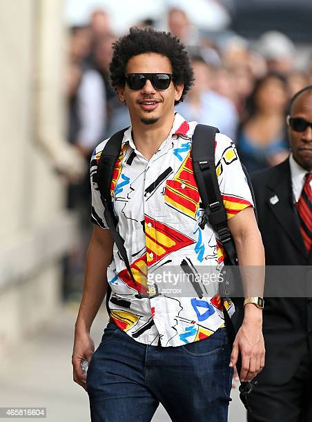 Eric Andre is seen at 'Jimmy Kimmel' Live on March 10 2015 in Los Angeles California