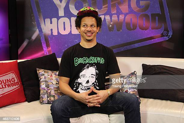 Eric Andre visits the Young Hollywood Studio on February 17 2015 in Los Angeles California