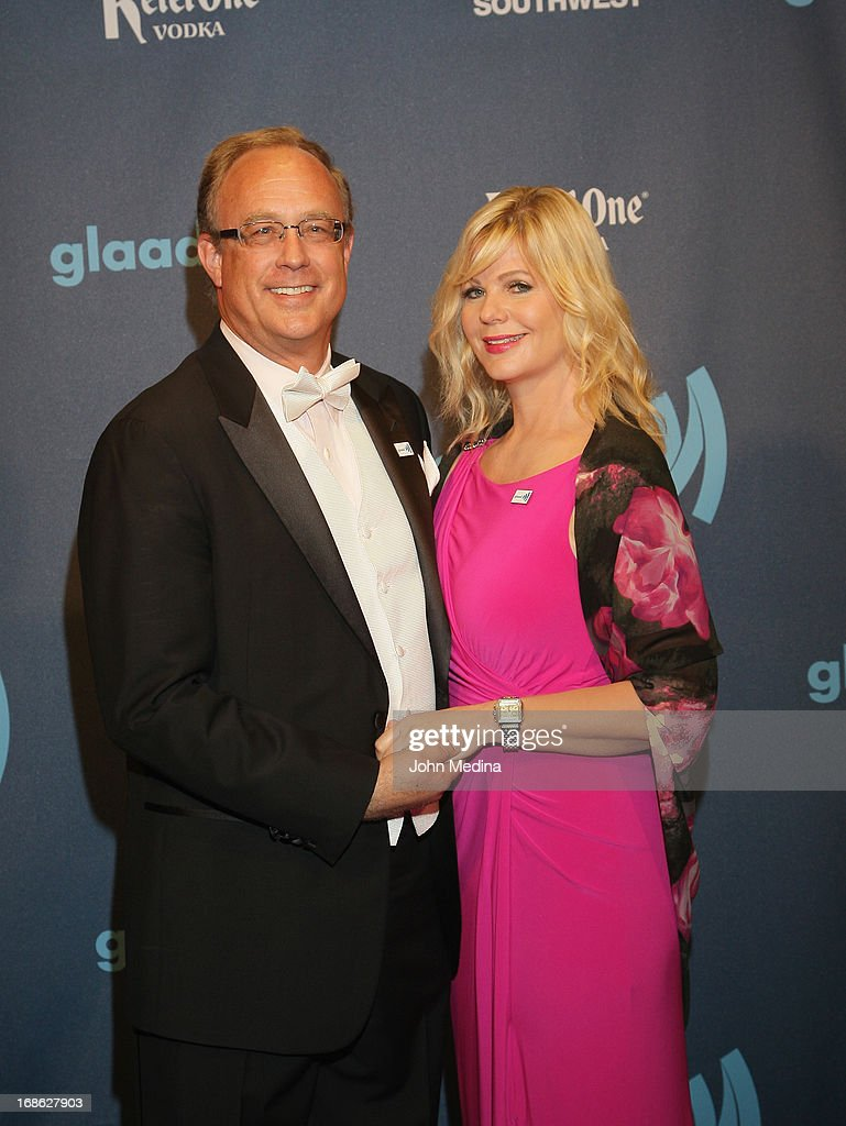 Eric Andresen and Karen Andresen attend the 24th Annual GLAAD Media Awards at the Hilton San Francisco - Union Square on May 11, 2013 in San Francisco, California.