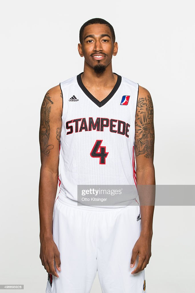 <a gi-track='captionPersonalityLinkClicked' href=/galleries/search?phrase=Eric+Atkins&family=editorial&specificpeople=7379862 ng-click='$event.stopPropagation()'>Eric Atkins</a> poses for a photograph during the Idaho Stampede's Media Day on November 10, 2015 at Peppershock Media in Nampa, Idaho.
