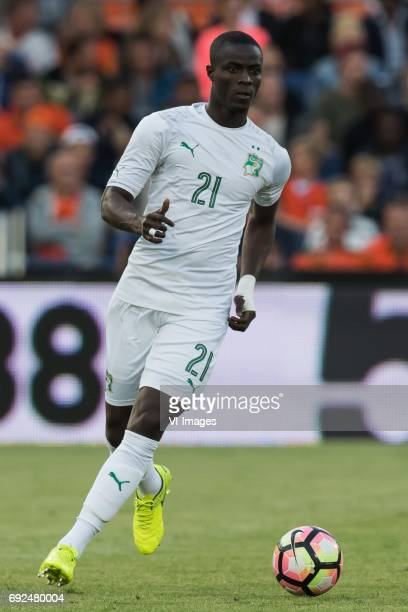 Eric Bailly of Ivory Coastduring the friendly match between The Netherlands and Ivory Coast at the Kuip on June 4 2017 in Rotterdam The Netherlands