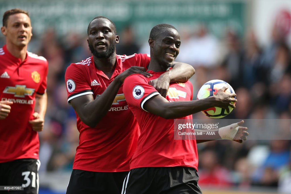 Swansea City v Manchester United - Premier League : News Photo