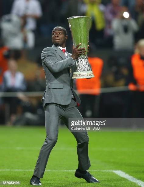 Eric Bailly of Manchester United celebrates with the trophy during the UEFA Europa League Final match between Ajax and Manchester United at Friends...