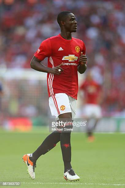 Eric Bailly of Manchester United during the Community Shield match between Leicester City and Manchester United at Wembley Stadium on August 7 2016...
