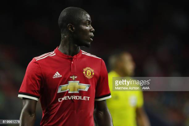 Eric Bailly of Manchester United during the International Champions Cup 2017 match between Manchester United and Manchester City at NRG Stadium on...