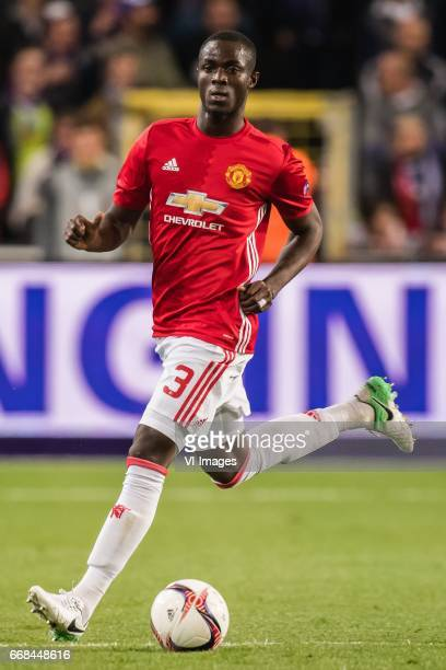Eric Bailly of Manchester Unitedduring the UEFA Europa League quarter final match between RSC Anderlecht and Manchester United on April 13 2017 at...