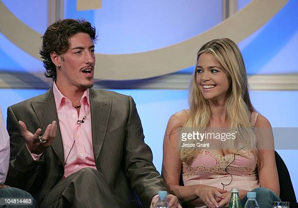 Eric Balfour and Denise Richards during UPN 2005 TCA Day in Los Angeles California United States