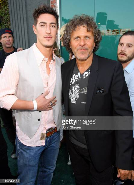 Eric Balfour and Renzo Rosso Owner and Founder of Diesel