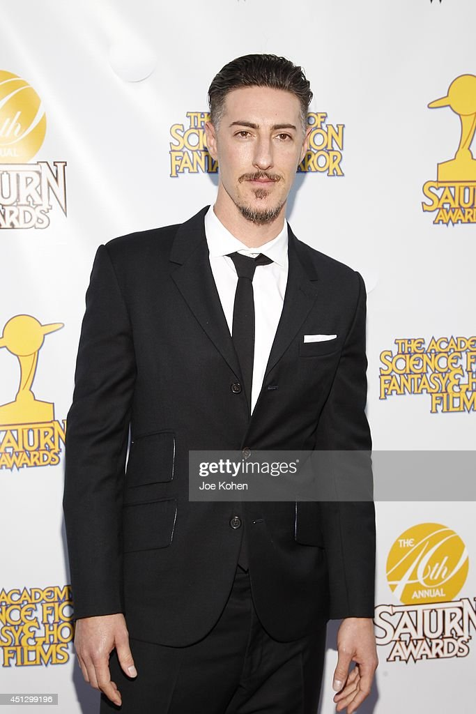 Eric Balfour attends the 40th Annual Saturn Awards at The Castaway on June 26, 2014 in Burbank, California.