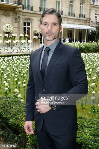 Eric Bana attends the Bulgari Cocktail Event At Apicius as part of Paris Fashion Week at Apicius on July 8 2014 in Paris France