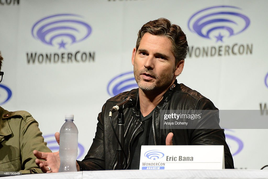 <a gi-track='captionPersonalityLinkClicked' href=/galleries/search?phrase=Eric+Bana&family=editorial&specificpeople=202104 ng-click='$event.stopPropagation()'>Eric Bana</a> attends the 'Deliver Us From Evil' panel at WonderCon Anaheim 2014 Day 2 at Anaheim Convention Center on April 19, 2014 in Anaheim, California.