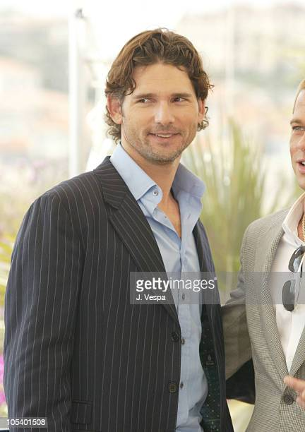 Eric Bana during 2004 Cannes Film Festival 'Troy' Photocall at Palais Du Festival in Cannes France