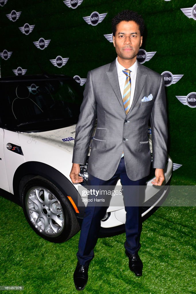 Eric Benet arrives at the Warner Music Group GRAMMY Celebration - Presented by Mini at Chateau Marmont on February 10, 2013 in Los Angeles, California.