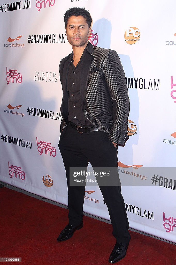 <a gi-track='captionPersonalityLinkClicked' href=/galleries/search?phrase=Eric+Benet&family=editorial&specificpeople=778854 ng-click='$event.stopPropagation()'>Eric Benet</a> attends The 6th Annual Kiss-N-Grind GRAMMY Edition hosted by Common with Vikter Duplaix and music producer The Twilite Tone at Arena Nightclub on February 8, 2013 in Hollywood, California.