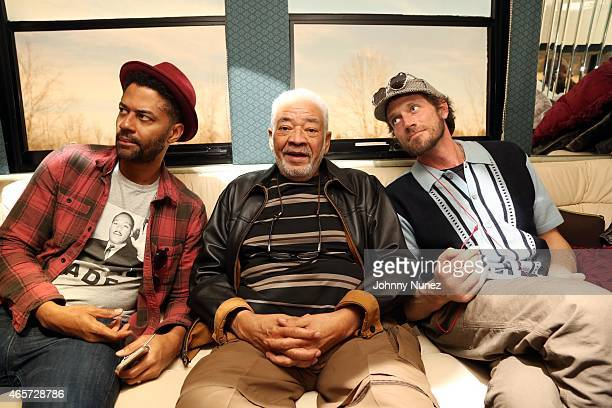 Eric Benet Bill Withers and Ben Taylor attend the Centric Celebrates Selma event on March 8 2015 in Selma Alabama