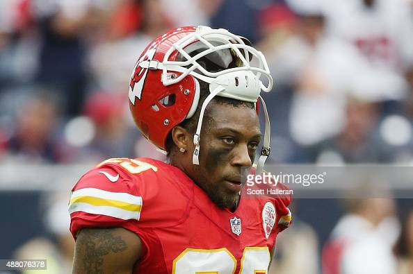 Eric Berry of the Kansas City Chiefs waits on the field during their game against the Houston Texans at NRG Stadium on September 13 2015 in Houston...