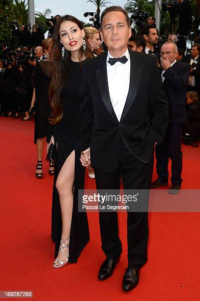 Eric Besson and his wife Yasmine Besson attend the 'All Is Lost' Premiere during the 66th Annual Cannes Film Festival at Palais des Festivals on May...