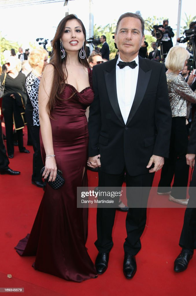 Eric Besson and Yasmine Tordjmanattends the Premiere of 'Nebraska' during the 66th Annual Cannes Film Festival at The Palais des Festivals on May 23, 2013 in Cannes, France.