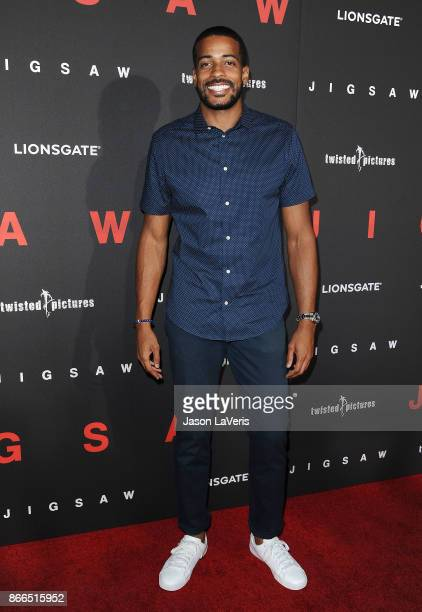 Eric Bigger attends the premiere of 'Jigsaw' at ArcLight Hollywood on October 25 2017 in Hollywood California