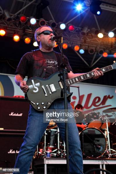 Eric Bloom from Long Island New York rock band Blue Oyster Cult performs on the Miller Lite Oasis Stage at the Henry W Maier Festival Park during the...