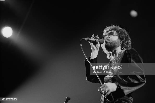 Eric Bloom performing with American rock group Blue Oyster Cult USA 14th January 1978