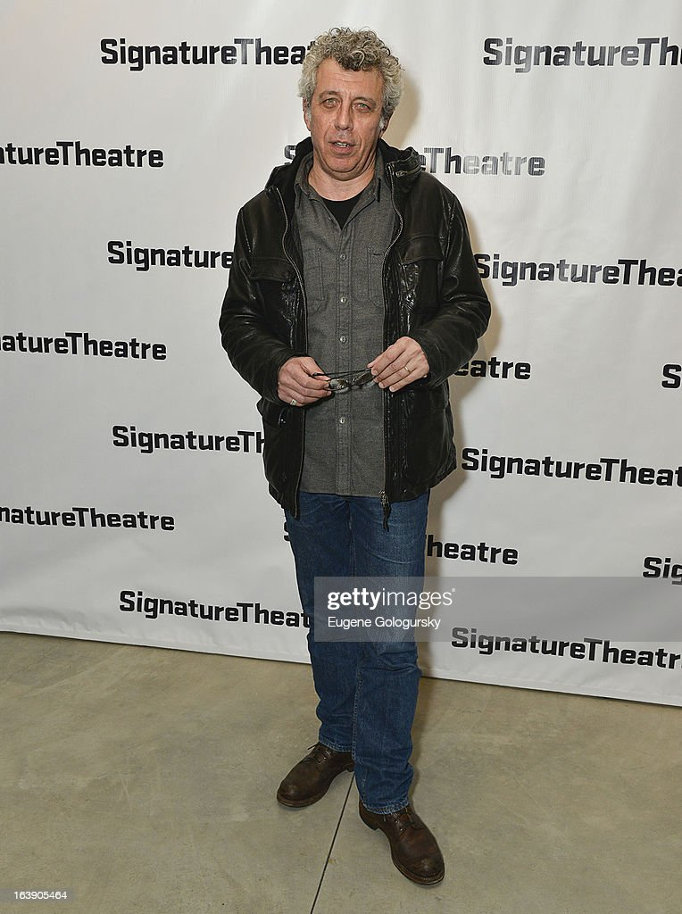 Eric Bogosian attends 'The Mound Builders' Opening Night Party at Signature Theatre Company's The Pershing Square Signature Center on March 17, 2013 in New York City.