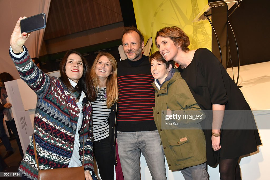 Eric Bompard cachemire collection Director Lucille Leorat a guest actor Pierre Franois Martin Laval a guest and 727Sailbags Co Founder Anna Beyou...