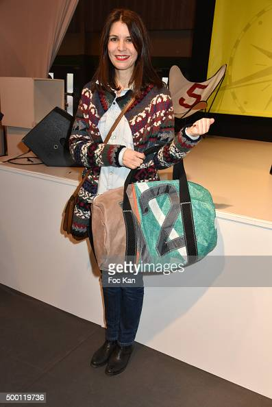 Eric Bompard cachemire Director Lucille Leorat attends the '727 Sailbags' Auction in Benefit to 'Les Toiles Enchantees' Children Care Association To...