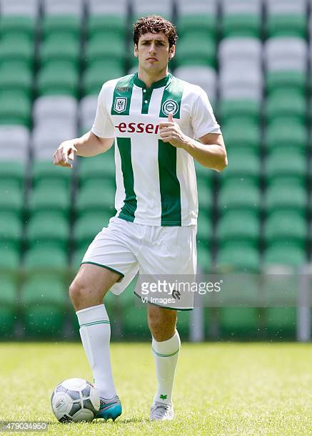 Eric Botteghin during the team presentation of FC Groningen on June 29 2015 at the Euroborg in Groningen The Netherlands