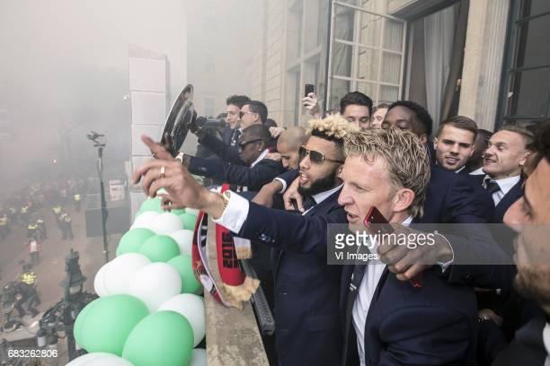 Eric Botteghin of Feyenoord Steven Berghuis of Feyenoord Eljero Elia of Feyenoord Karim El Ahmadi of Feyenoord Tonny Vilhena of Feyenoord Terence...