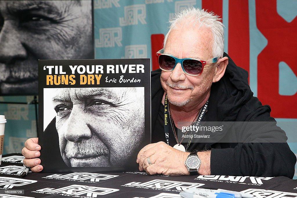 Eric Burdon Performance And Autograph Signing