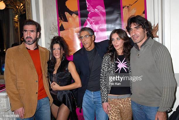 Eric Cantona Actrice Emmanuelle Riviere Samy Naceri Realisatrice Severine Lathuillere and Joel Cantona