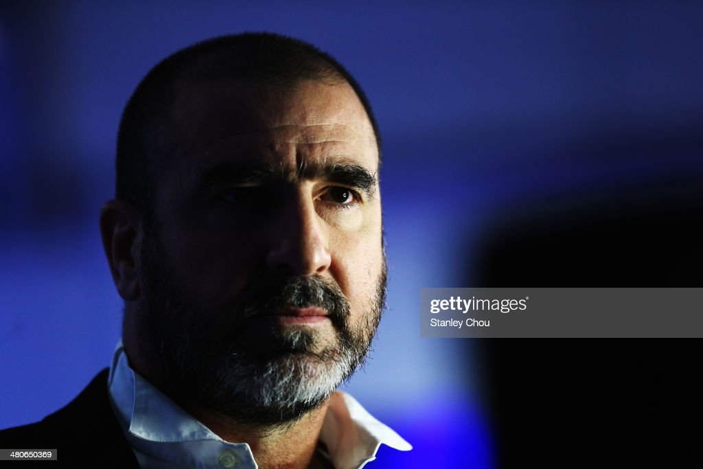 Eric Cantona attends the 2014 Laureus World Sports Awards at the Istana Budaya Theatre on March 26, 2014 in Kuala Lumpur, Malaysia.
