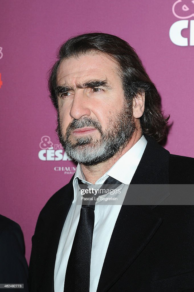 <a gi-track='captionPersonalityLinkClicked' href=/galleries/search?phrase=Eric+Cantona&family=editorial&specificpeople=211325 ng-click='$event.stopPropagation()'>Eric Cantona</a> attends the 'Cesar - Revelations 2014' Cocktail Party and Dinner at Le Meurice on January 13, 2014 in Paris, France.