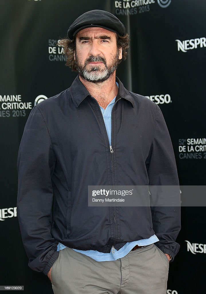 Eric Cantona attends the photocall for 'Les Recontres D'Apres Minuit' (You and the Night) at The 66th Annual Cannes Film Festival on May 20, 2013 in Cannes, France.
