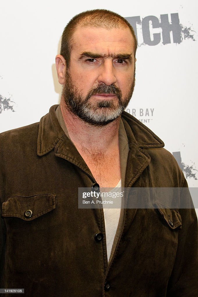 Eric Cantona attends the UK premiere of Switch at Cineworld Haymarket on March 26, 2012 in London, England.
