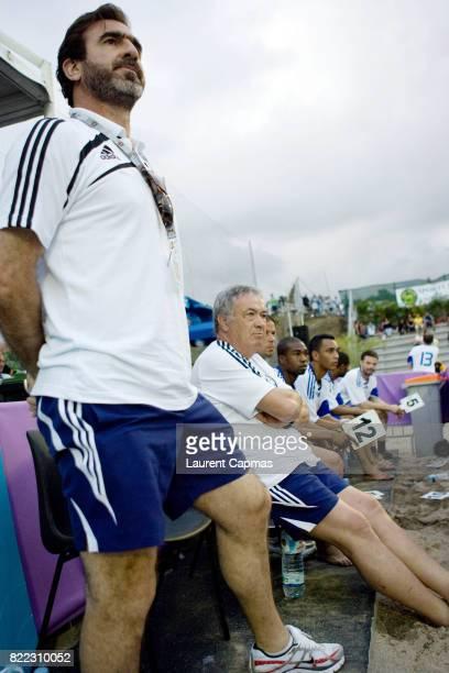 Eric CANTONA / Henri EMILE Tournoi de Beach Soccer Tampon Festisable Le Tampon La Reunion