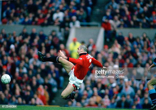 Eric Cantona in action during the 19951996 season