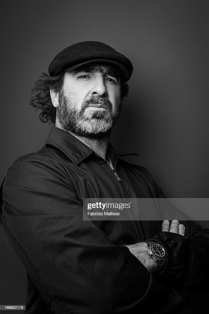 Eric Cantona is photographed for Self Assignment on May 20, 2013 in Cannes, France.