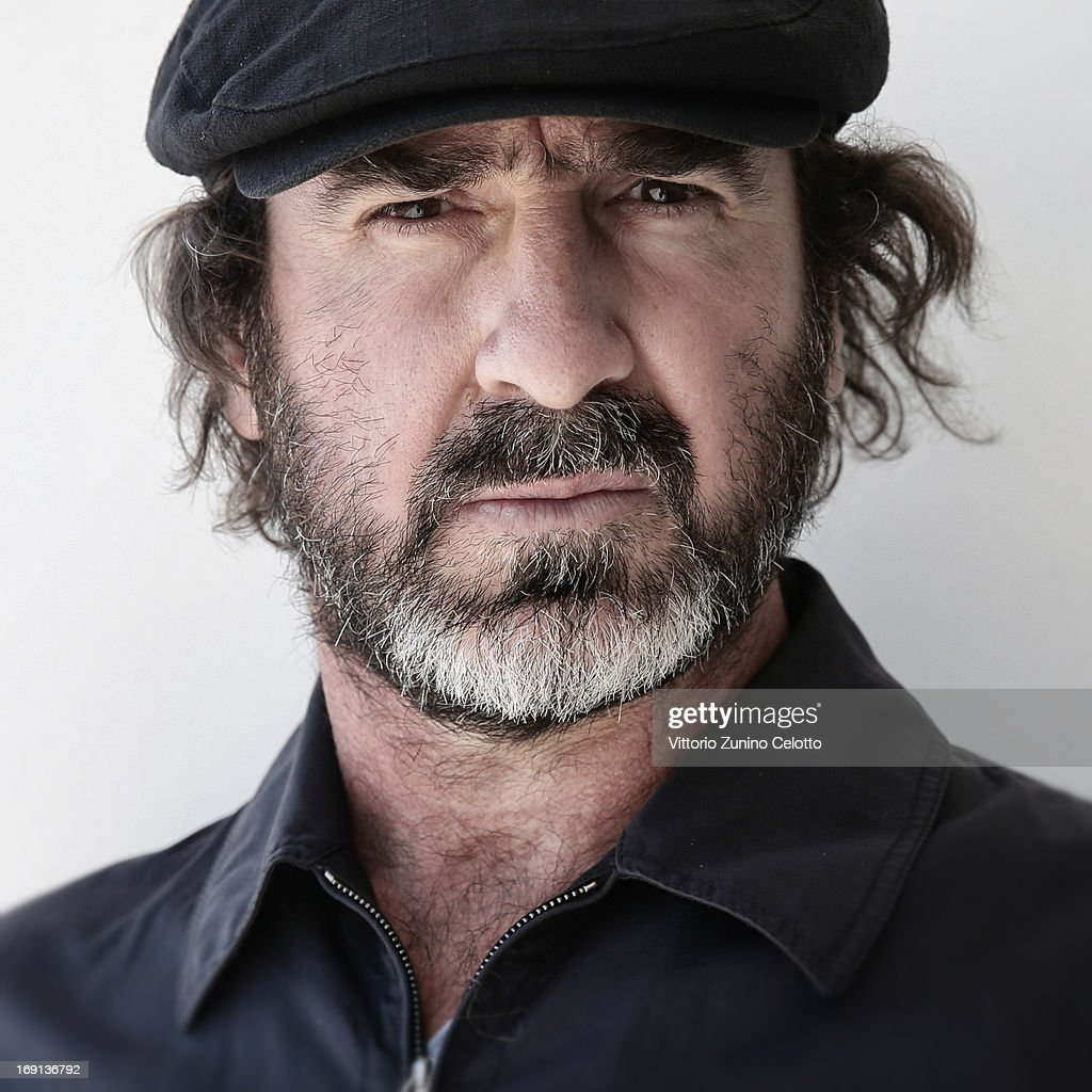 Eric Cantona poses during 'Les Recontres D'Apres Minuit' Portrait Session as part of the 66th Annual Cannes Film Festival at Nespresso Beach on May 20, 2013 in Cannes, France.