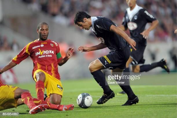 Eric CHELLE / Yoann GOURCUFF Bordeaux / Lens 1ere journee de Ligue 1 Stade Chaban Delmas Bordeaux