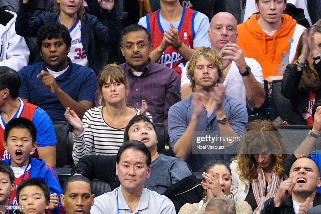 <a gi-track='captionPersonalityLinkClicked' href=/galleries/search?phrase=Eric+Christian+Olsen&family=editorial&specificpeople=549583 ng-click='$event.stopPropagation()'>Eric Christian Olsen</a> attends a basketball game between the Boston Celtics and the Los Angeles Clippers at Staples Center on December 27, 2012 in Los Angeles, California.