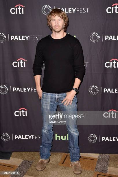 Eric Christian Olsen attends PaleyFest Los Angeles 2017 'NCIS Los Angeles' at Dolby Theatre on March 21 2017 in Hollywood California