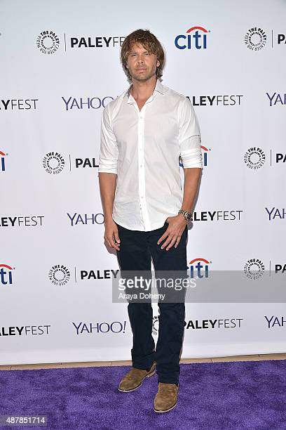 Eric Christian Olsen attends The Paley Center for Media's PaleyFest 2015 Fall TV preview of 'NCIS Los Angeles' at The Paley Center for Media on...