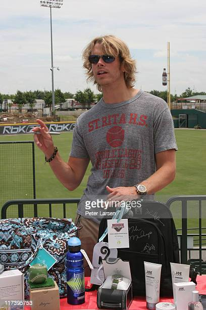 Eric Christian Olsen during Klein Creative Communications Provides Gift Bags at the 2006 Reebok Heroes Celebrity Baseball Game at Dr Pepper Ballpark...