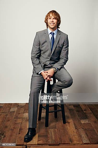 Eric Christian Olsen poses during the The 41st Annual People's Choice Awards at Nokia Theatre LA Live on January 7 2015 in Los Angeles California